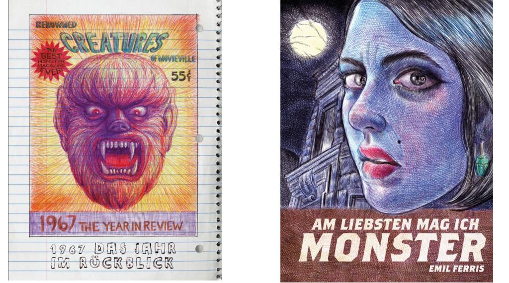LEIDER ABGESAGT !!!      »Am liebsten mag ich Monster« – Buchvorstellung mit Emil Ferris (USA)