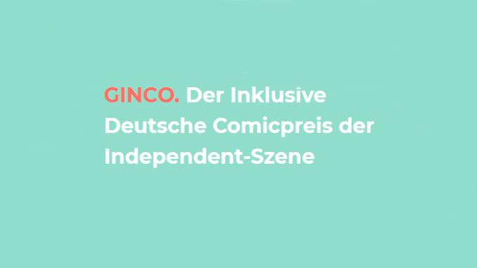 Jetzt bewerben! GINCO Preis