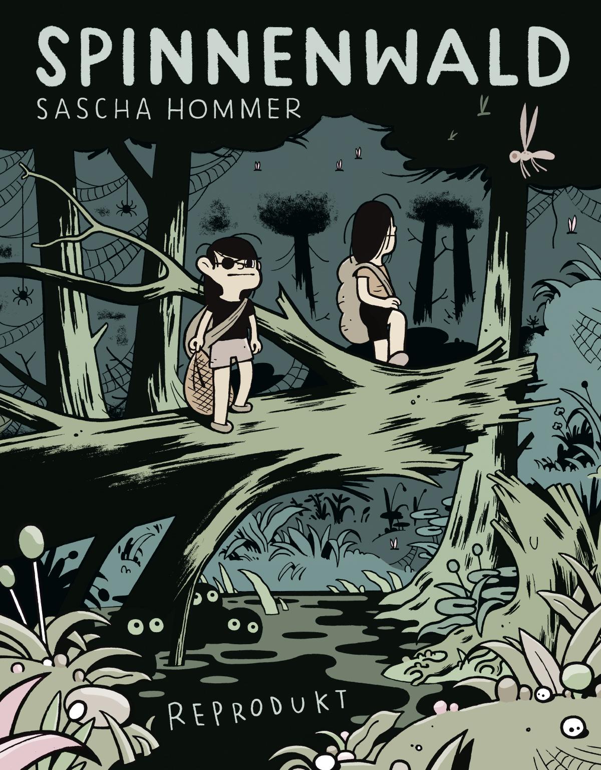 """Sascha Hommer präsentiert """"Spinnenwald"""""""
