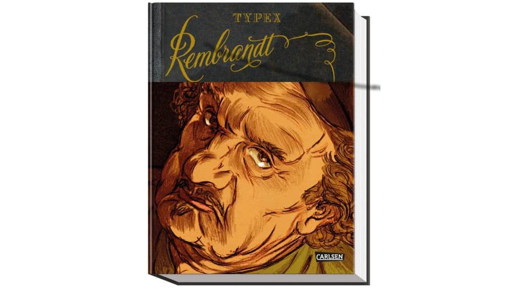 """Typex präsentiert seine neue Graphic Novel """"Rembrandt"""" im Carlsen Verlag"""